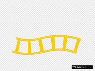 Yellow Film Strip