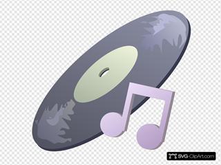 Music Symbol SVG Clipart