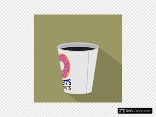 Doughnut Shop Coffee Icon