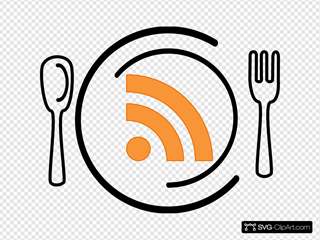 Rss Feed Icon Plate