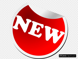 New Icon SVG Clipart