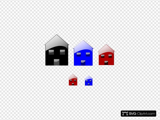 Homes Clip art, Icon and SVG - SVG Clipart