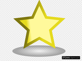 Simple Gold Star
