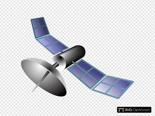 Satellite SVG Clipart