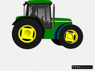 Tractor Svg Vector Tractor Clip Art Svg Clipart