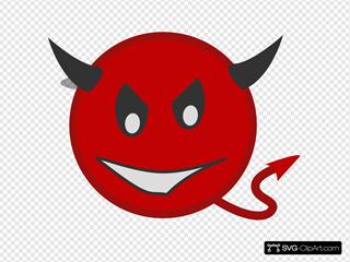 Devilish Face