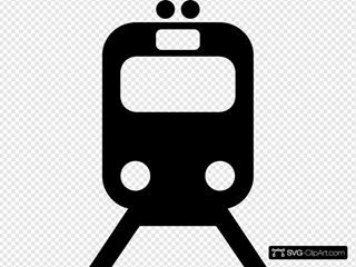 Tram Train Subway Transportation Symbol