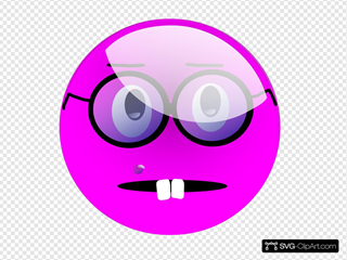Glassy Smiley Emoticon SVG Clipart