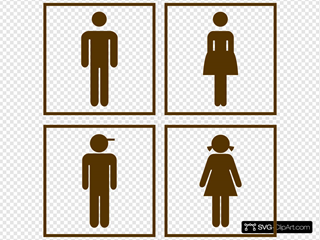 Washroom Icons