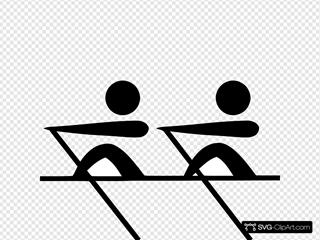 Olympic Rowing Logo