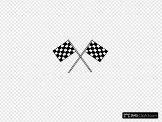 Motor Racing Flags