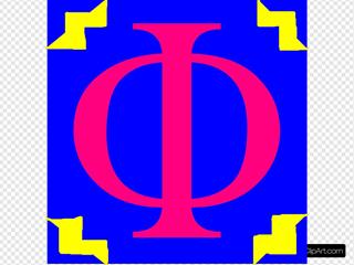Phi-zero  Symbol