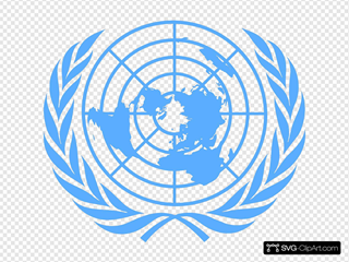Blue Un Logo Vectorised