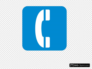 Emergency Telephone Blue
