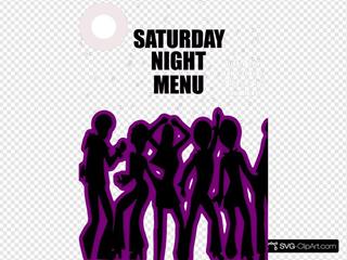Saturday Night Menu