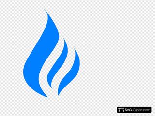 Gas Flame Logo