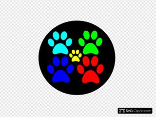 Doggie Pals Dog Walking Service Logo