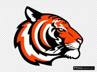 Tigers Logo Orange
