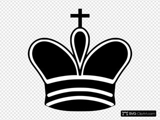 Chess King Piece