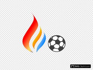 Maron  Flame Logo 5
