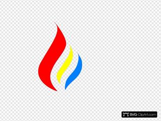 R&o&b  Flame Logo