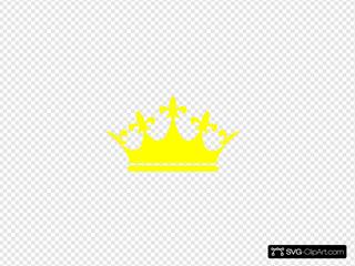 Queen Crown Logo Yellow