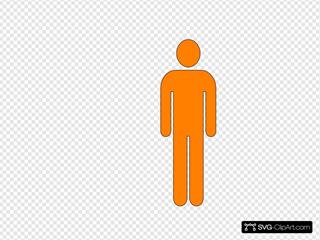 Man Orange Icon