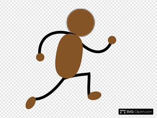 Bronze Jogging Man