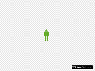 Empty Man SVG Clipart