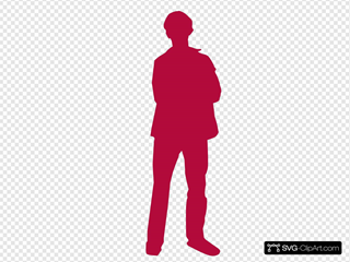 Red Man Person