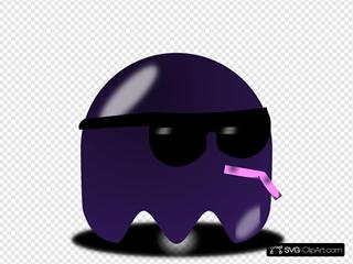 Pcman  Game Baddie Sunglasser