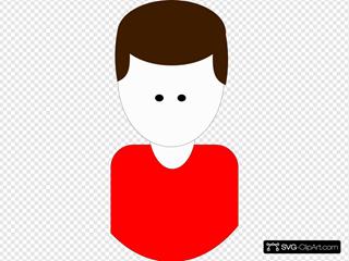 Man Cartoon (red)
