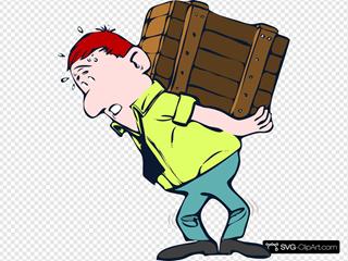 Man Lifting Crate