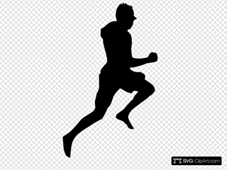 Jumping Dancing Silhouette Running