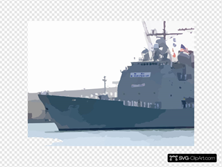 Uss Mobile Bay  Gets Underway For Deployment.