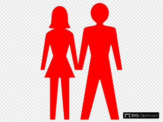 Man And Woman (heterosexual) Icon (alternate)
