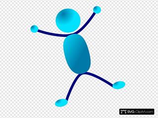 Stick Man Hurray Jumping