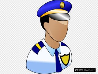 Police Prominant Badge