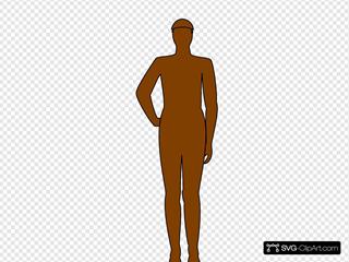 Brown Man