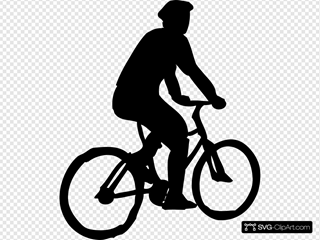 Bicyclist Sillouette