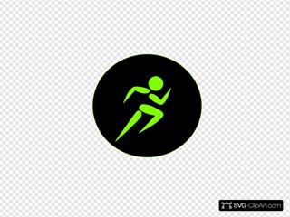 Fit Mud Run Green/black