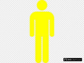 Yellow Icon Man