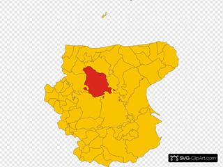 Map Of Comune Of San Severo Province Of Foggia Region Apulia Italy