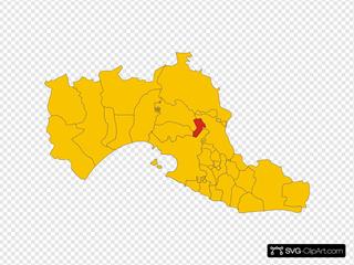 Map Of Comune Of Montemesola Province Of Taranto Region Apulia Italy
