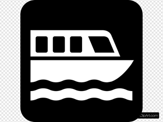 Map Symbols Boat Clipart