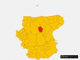 Map Of Comune Of Rignano Garganico Province Of Foggia Region Apulia Italy
