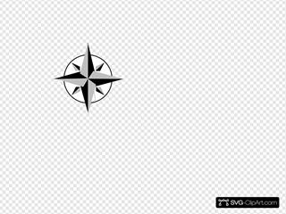Short Gray Compass