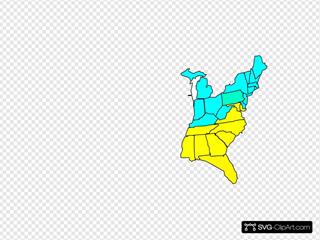 Map Clip arts