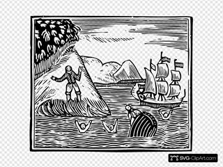 Robinson Crusoe The Wreck