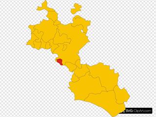 map Of Comune Of Delia Province Of Caltanissetta Region Sicily Italy